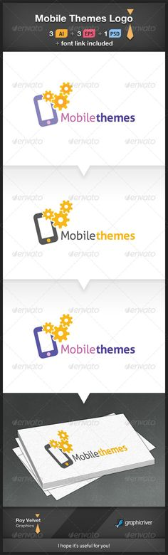 Buy Mobile Themes Logo by RoyVelvet on GraphicRiver. USAGE: This is a great logo for mobile themes sites, mobile customize services, mobile repair, mobile apps sites. Mobile Logo, Mobile App, Logo Design Template, Logo Templates, Iphone Logo, Blog Logo, Great Logos, Information Graphics, Vector Shapes