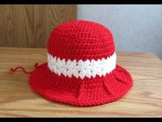 Crochet Baby Girl Hat Part 2 of 3 - YouTube