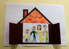 Qurm vive na casa Activity Centers, Learning Centers, Diy And Crafts, Arts And Crafts, Kids Class, Family Crafts, Family Day, Preschool Activities, Easy Drawings