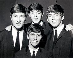 The Beatles -- John Lennon, Paul McCartney, George Harrison and Ringo Starr