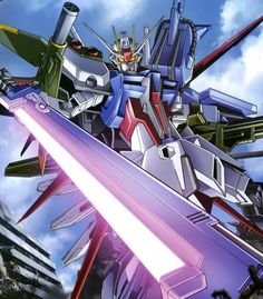 Gundam with sword