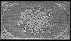Priscilla 2 Vintage Filet Crochet Patterns - KarensVariety.com