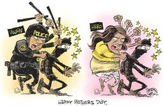 Baltimore Mothers Day © Daryl Cagle 5/1/15