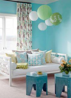 divan... Cool colors