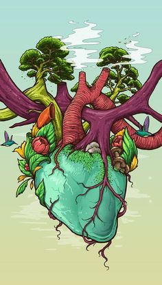 "suchispipe: ""Photo by Bernard Salunga, on Behance, via The Realm of Psychedelic Art. Earth Drawings, Cool Art Drawings, Art Drawings Sketches, Mother Earth Drawing, Save Earth Drawing, Save Water Poster Drawing, Vexx Art, Posca Art, Arte Sketchbook"