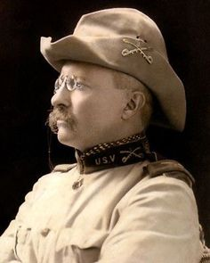 Theodore Roosevelt as Lieutenant-Colonel of US Volunteer Cavalry in 1898 (b/w photo), American Photographer, century) Greatest Presidents, American Presidents, Us Presidents, American Flag, Theodore Roosevelt, Roosevelt Family, Edith Roosevelt, Roosevelt Quotes, Spain