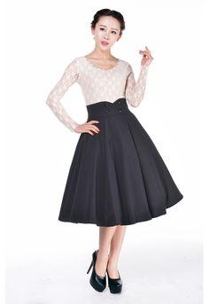 Rockabilly Swing Skirt by Amber Middaugh Standard Size $39.95 Plus Size $45.95