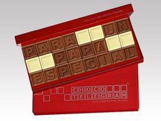 ¡19 de marzo es el Día del Padre! Tenemos el regalo ideal. Artisan Chocolate, Cube, Decorative Boxes, Packaging, Sweets, Ideas Originales, Ideas Para, Stickers, Facebook