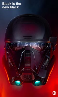 Get your new Imperial Death Trooper Mask, just in time for Rogue One. Features include voice-changing capabilities and light-up awesomeness. Available in the most Empire-appropriate color: black. Available now at Target.