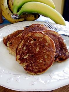 Banana Butter Pancakes - gluten and dairy free