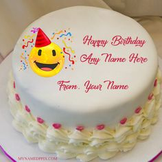 Emoji Birthday Cake Wishes Name Profile Pictures