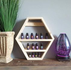Essential Oil Storage Shelf  Nail Polish Storage  Bathroom