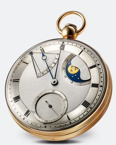 Modern version of the Breguet No. 5 pocket watch.