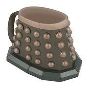 Doctor Who 3-D Grey Dalek Mug