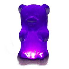Fab.com | GummyGoods Nightlight Purple