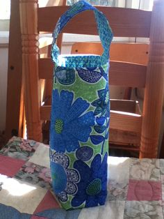 Vera Bradley Doodle Daisy Insulated Wine/Beverage by kmsCloset