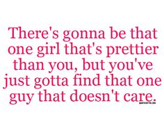 there's gonna be that..