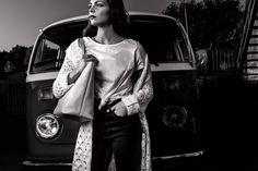 The Woodstock advertising campaign A/I Advertising Campaign, Woodstock, 18th, Tulle, Bags, Dresses, Fashion, Handbags, Vestidos
