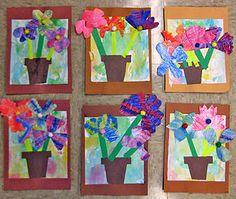 Eric Carle Flowerpots. The Tiny Seed