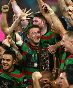 Sam Burgess Photos Photos: 2014 NRL Grand Final - South Sydney v Canterbury Rugby League, Rugby Players, Rabbits In Australia, Sam Burgess, Canterbury Bulldogs, Rugby Pictures, Rugby Men, League Of Legends, Champs