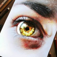 WANT A SHOUTOUT ?   CLICK LINK IN MY PROFILE !!!    Tag  #DRKYSELA   Repost from @elia_pelle   - games of lights -  Hyperrealistic eye drawing realized with @winsorandnewton pro markers @chameleonpens colored pencils and prismacolor pencils.  I'm focused on the light's effect reflected in the iris giving life to all the drawing.  REMEMBER if you want drawings of your eyes or irises contact me on dm or email: eliapelle@libero.it via http://instagram.com/zbynekkysela