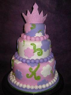 Happy Chickadee: Princess Birthday Party Cakes that aren't, uh, princessy!