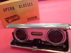 Vintage Arrow opera glasses Japan 25x. With original box  on Etsy, $10.00