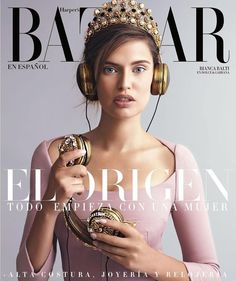 Bianca Balti for Harper's Bazaar Mexico and Latin America November 2015 Covers - Dolce&Gabbana