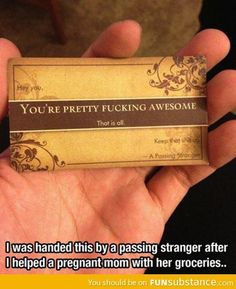 You're pretty awesome - FunSubstance.com on imgfave