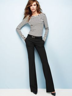 The Kate Flare Pant in Seasonless Stretch - Victoria's Secret