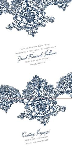 Wedding invitations that fit your theme and palette for a perfectly coordinated day. Shop Invitations by David's Bridal.