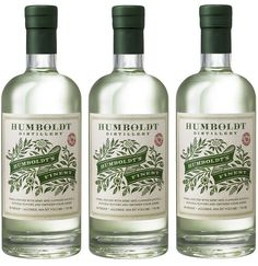 Auston Design Group designed the packaging for Humboldt Distillery's new  groundbreaking cannabis-infused vodka. The design has an old-school,  traditional feel, referencing the craft that goes into creating this  special spirit.