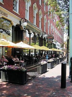 Downtown Nashua, New Hampshire