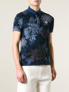 #moncler #mens #poloshirts #floralprints #blue #polo #shirts ##prints #mensfashion www.jofre.eu
