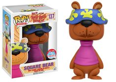 Help... It's the Hair Bear Bunch - Square Bear Funko Pop! Vinyl Figure