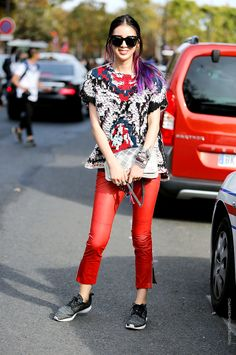 In the Street...All crazy for Irene Kim | Street Style