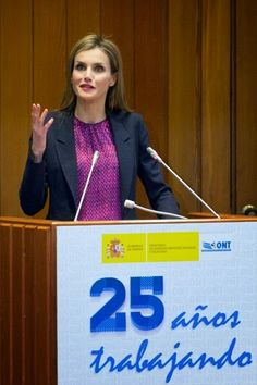 Queen Letizia presided over the celebration of the25th anniversary of the establishment of the National Transplant Organization (ONT).