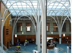 Indianapolis Public Library, a true Cathedral of Learning.