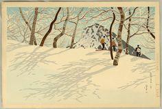 Okumura Koichi, Snow at Shiga Hights (1949)