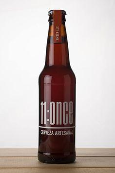 11:ONCE Amber Ale, cerveza artesanal. Ensenada, Baja Cali. México.