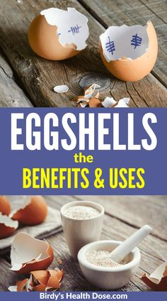 Eggshells can get rid of many health problems. Let's see the multiple benefits and their uses. Health And Wellness Coach, Health And Wellbeing, Health And Nutrition, Health Tips, Health Fitness, High Calcium, Fitness Facts, Herbal Plants, Fit Board Workouts