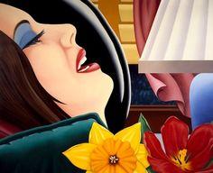 Tom Wesselmann - Bedroom painting n°39