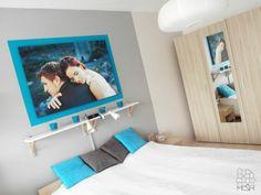 Sypialnia w mieszkaniu prywatnym