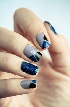 Manicure ideas: esmalte gris [FOTOS] | ActitudFEM