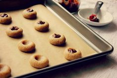 Gluten-Free   Vegan Recipe | Spiced Apple Butter Thumbprints