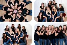 Senior Picture Ideas for Girls. Group Senior Picture Ideas