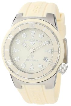 Swiss Legend Women's 11840D-016 Neptune Beige Dial Beige Silicone Watch >>> Want to know more about the watch, click on the image.