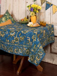 Evelyn Tablecloth | New Arrivals, Kitchen Linens :Beautiful Designs by April Cornell