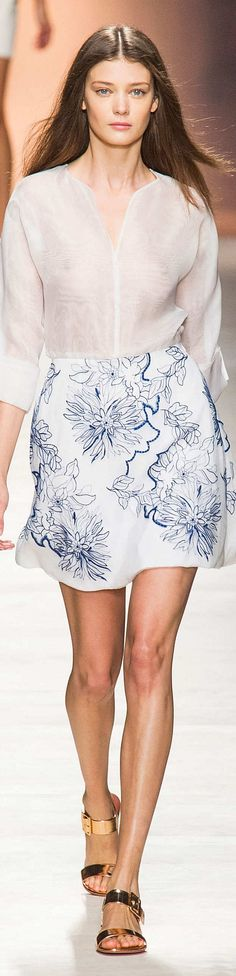 Blumarine Collection Spring 2015 - via JAMES MITCHELL