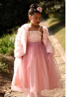 Purlox Faux Fur, Jeweled Gown and Queen Crown Clip. nanabelleboutique.net Queen Crown, Boutique Clothing, Faux Fur, Flower Girl Dresses, Daughter, Photoshoot, Gowns, Wedding Dresses, Skirts